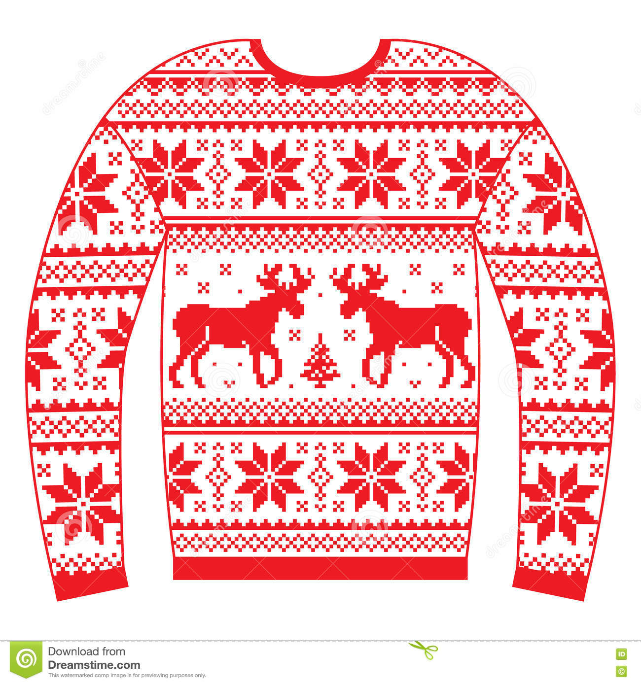 Traditional christmas sweaters