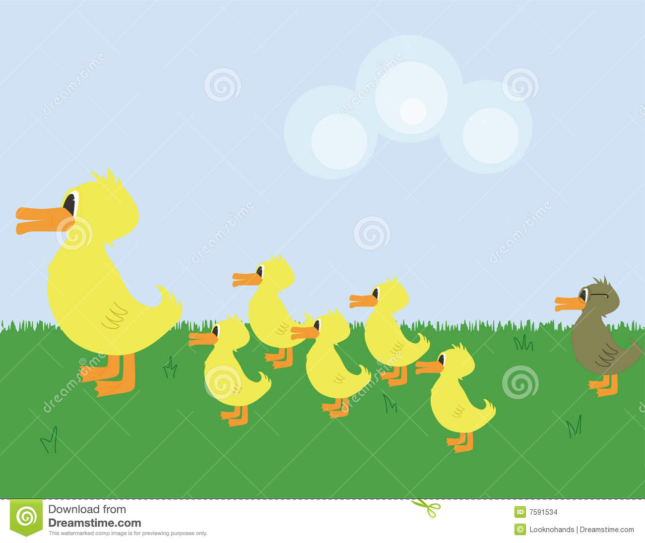 Ugly Duckling Stock Illustrations 77 Ugly Duckling Stock