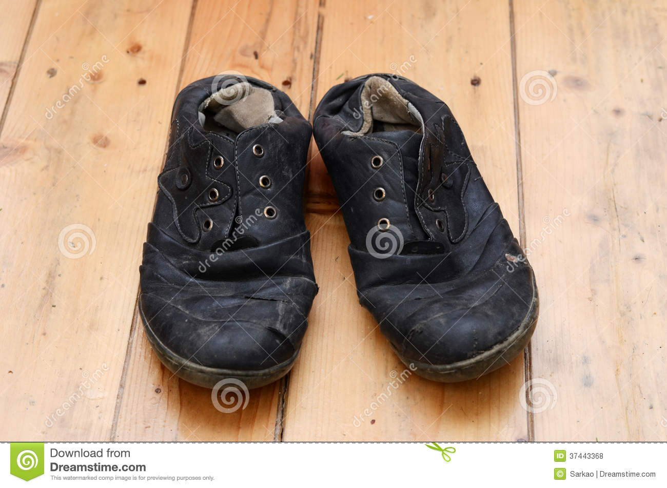 Ugly shoes stock photo. Image of floor
