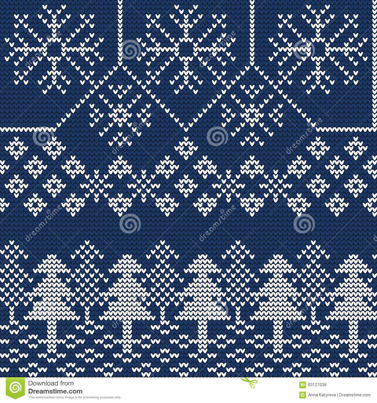 Ugly Sweater Background 1 Stock Vector - Image: 63127036
