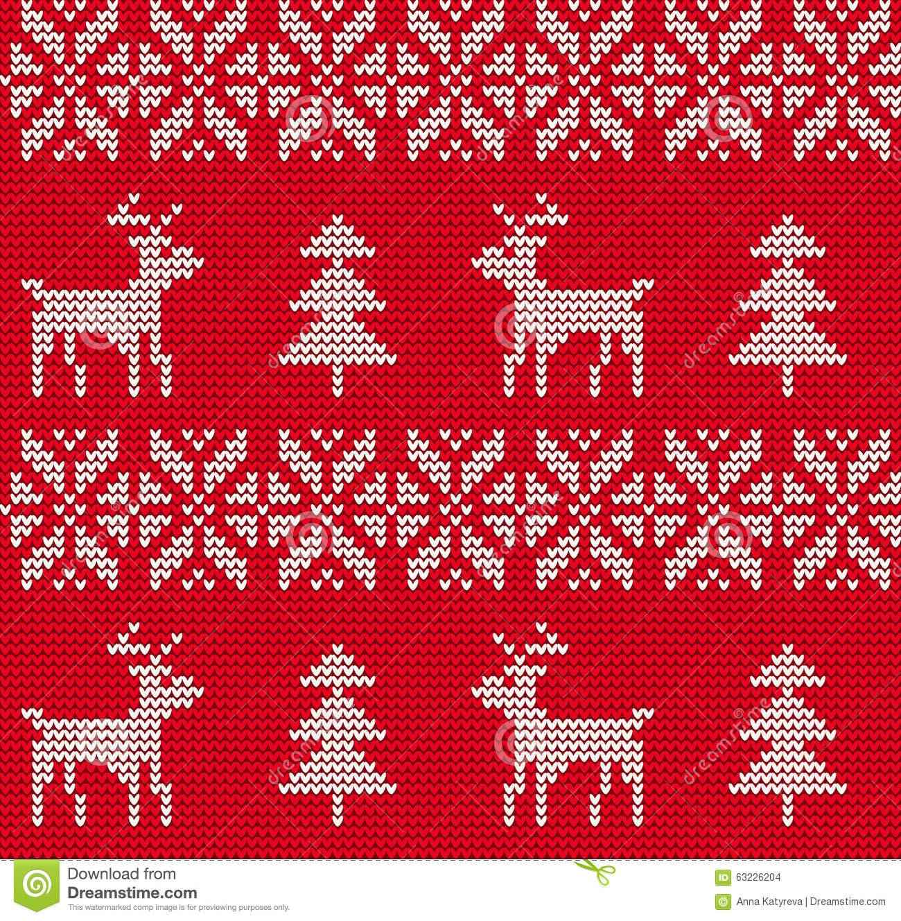 Ugly Christmas Sweaters Patterns.Ugly Sweater Background Stock Vector Illustration Of