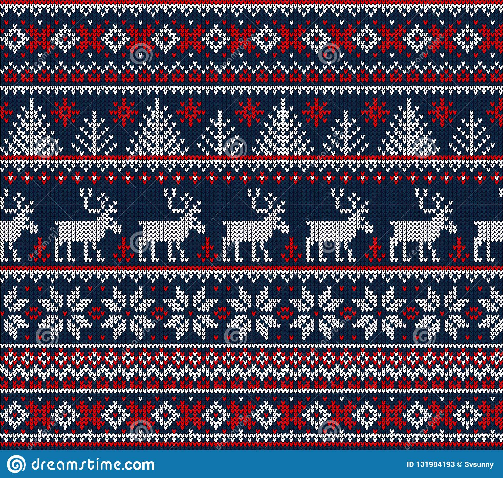 Ugly Sweater Merry Christmas Happy New Year Seamless Pattern Frame Stock Vector Illustration Of Christmas Party 131984193