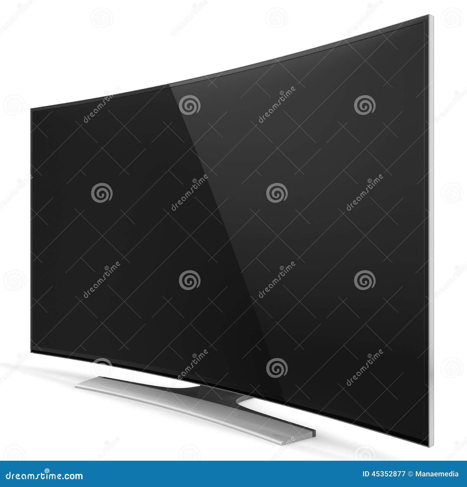 UHD Smart TV avec l écran incurvé