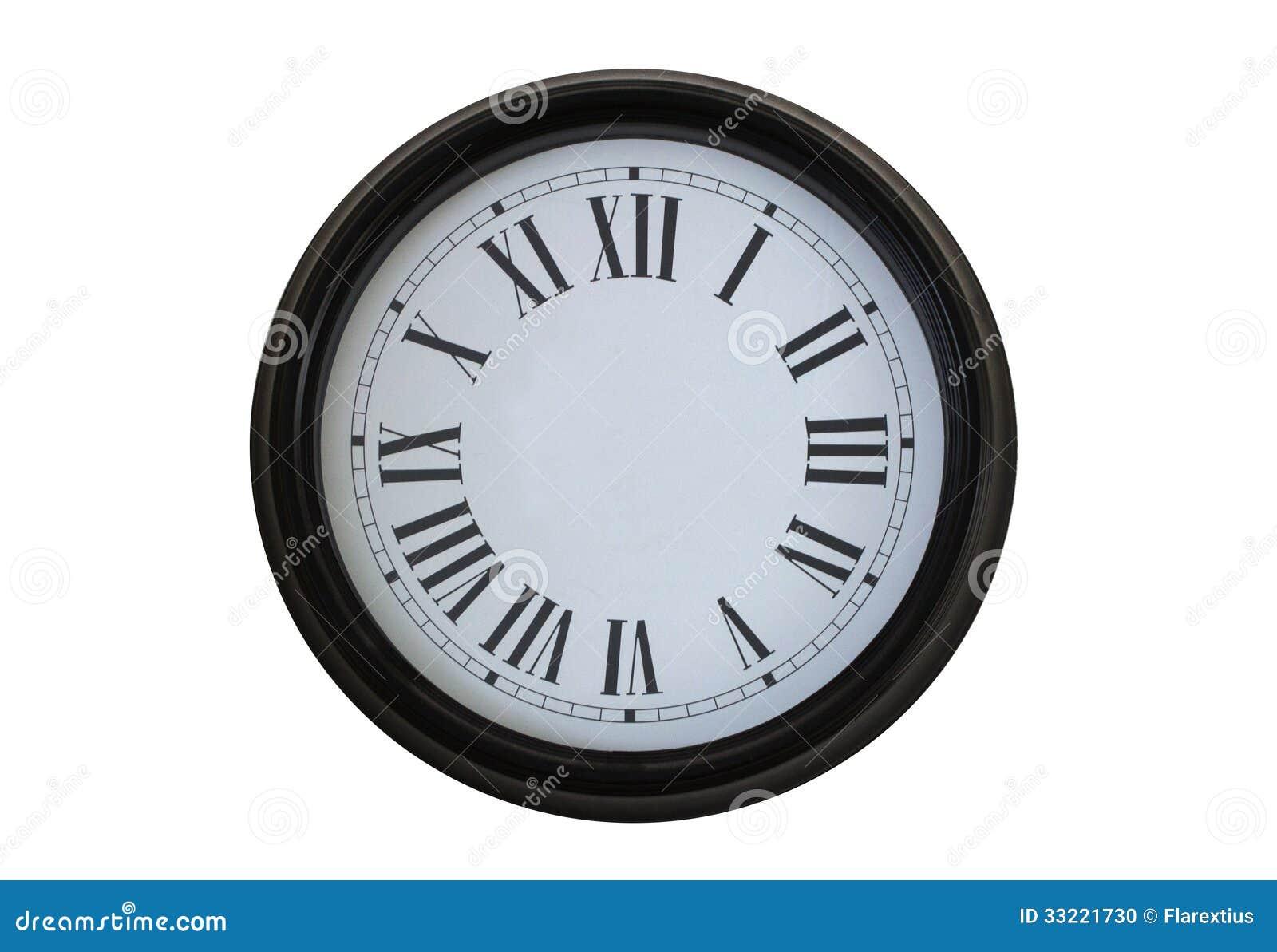 Uhr ohne zeiger  Uhr Ohne Zeiger Stockfoto - Bild: 33221730
