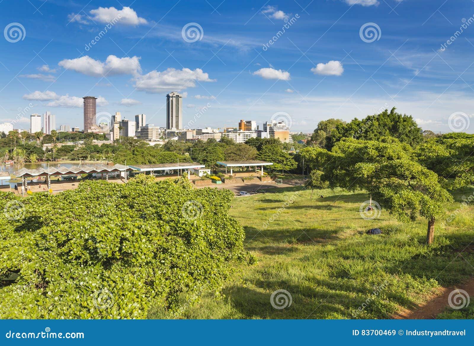 Uhuru Park в Найроби, Кении