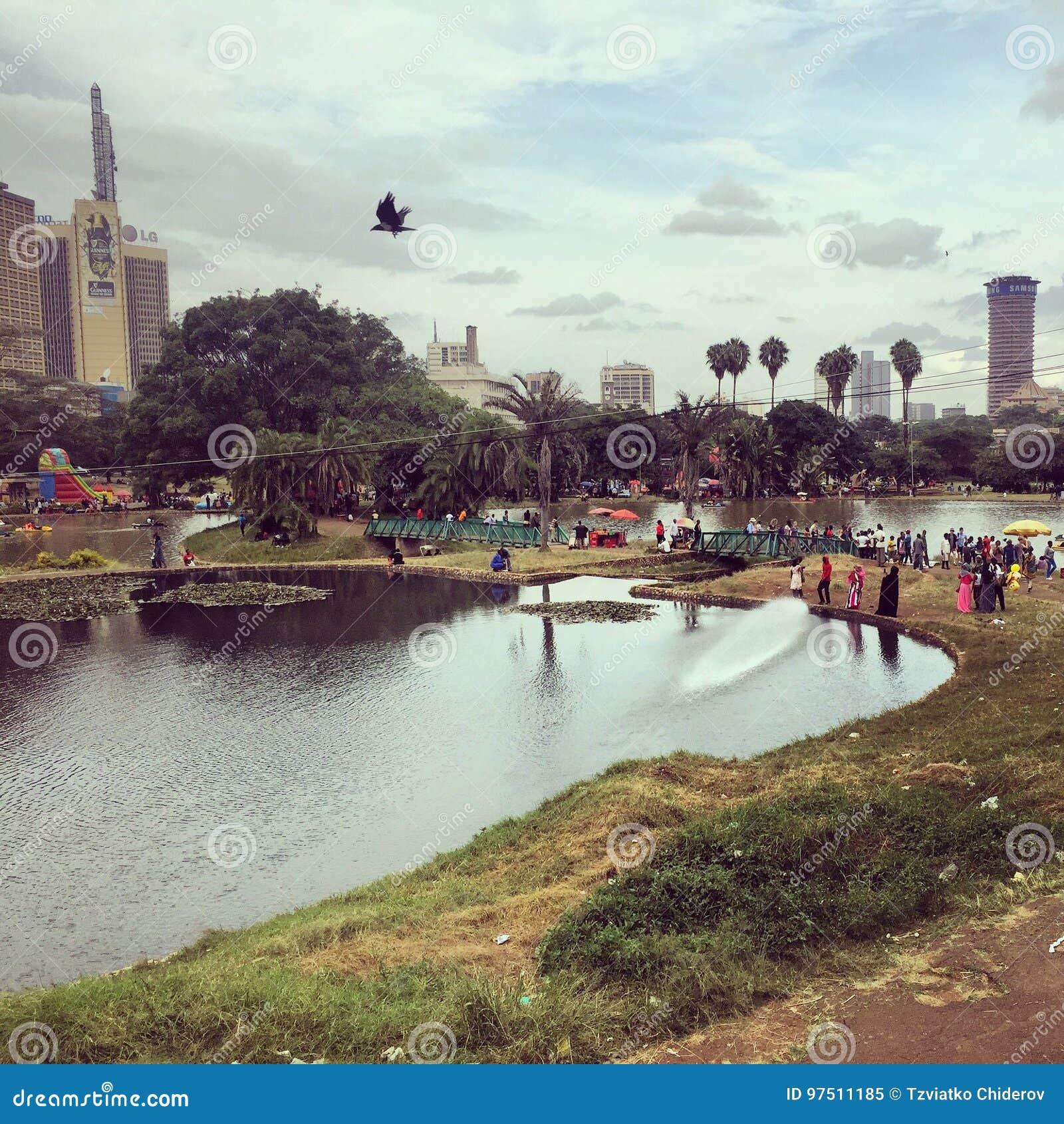 Uhuru Park in zentralem Nairobi