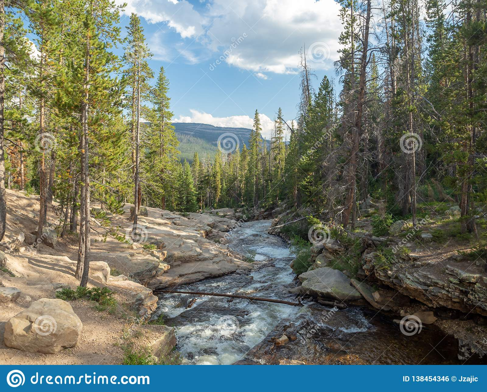 Uinta-Wasatch-Cache National Forest, Mirror Lake, Utah, United States, America, near Slat Lake and Park City