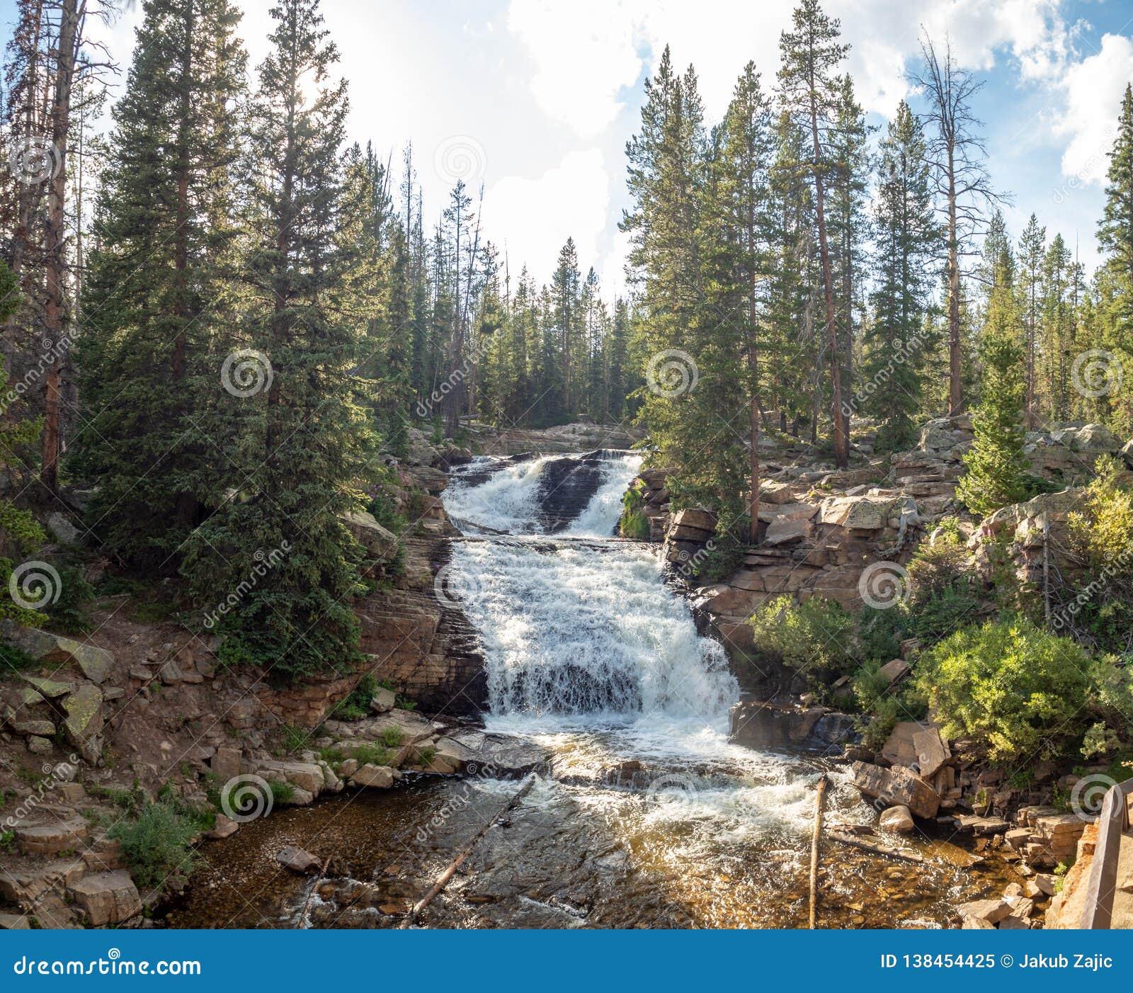 Uinta-Wasatch-Cache National Forest, Mirror Lake, Utah, United States, America, near Slat Lake and Park City