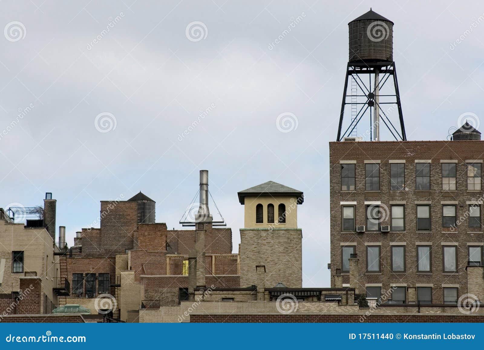 Uit het stadscentrum horizon NYC