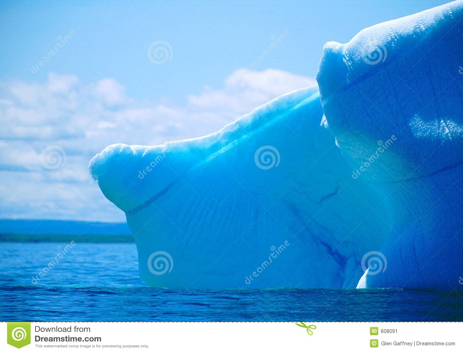 Uiteinde van de ijsberg