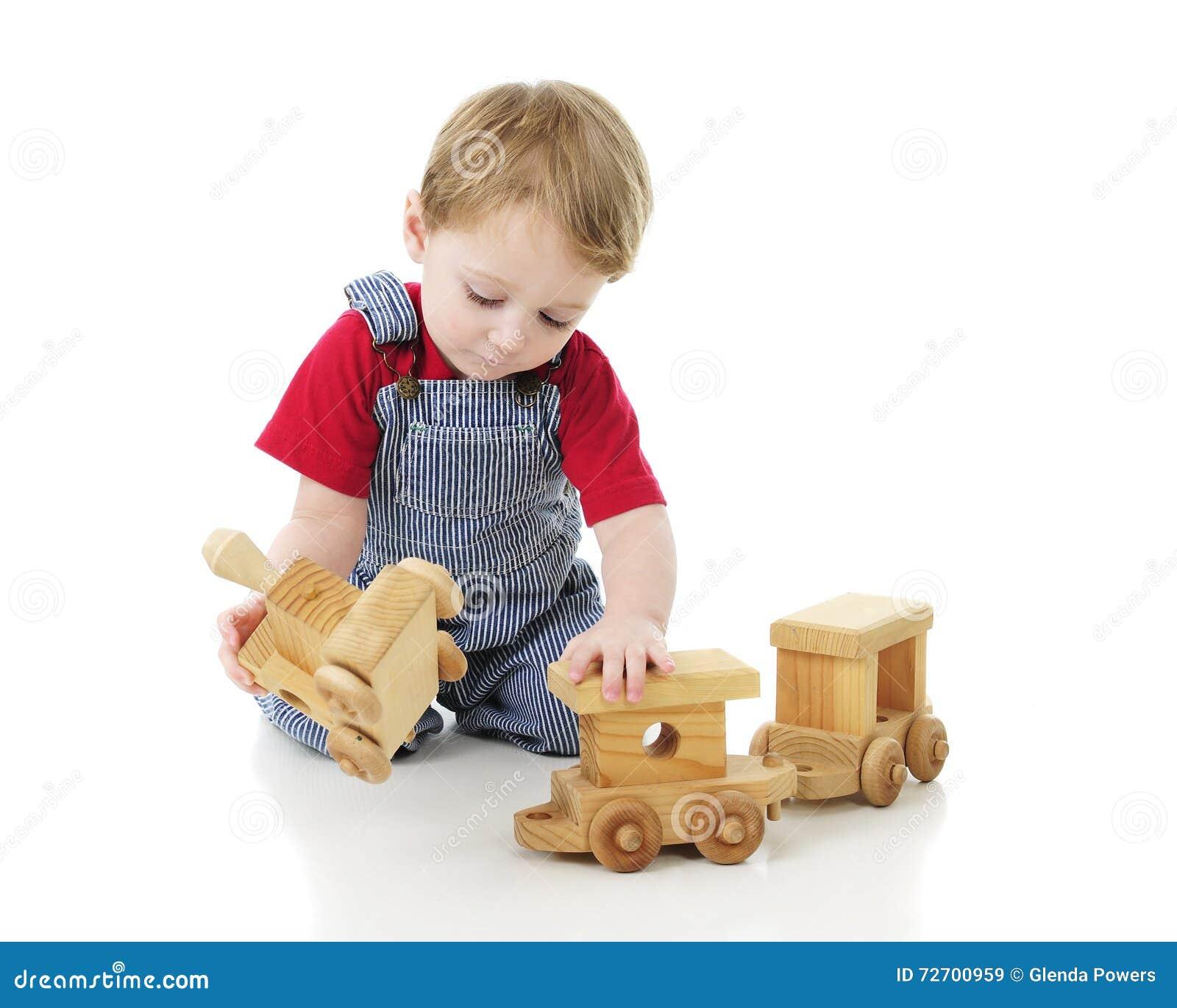 Uiterst kleine Ingenieur Assembling de Trein