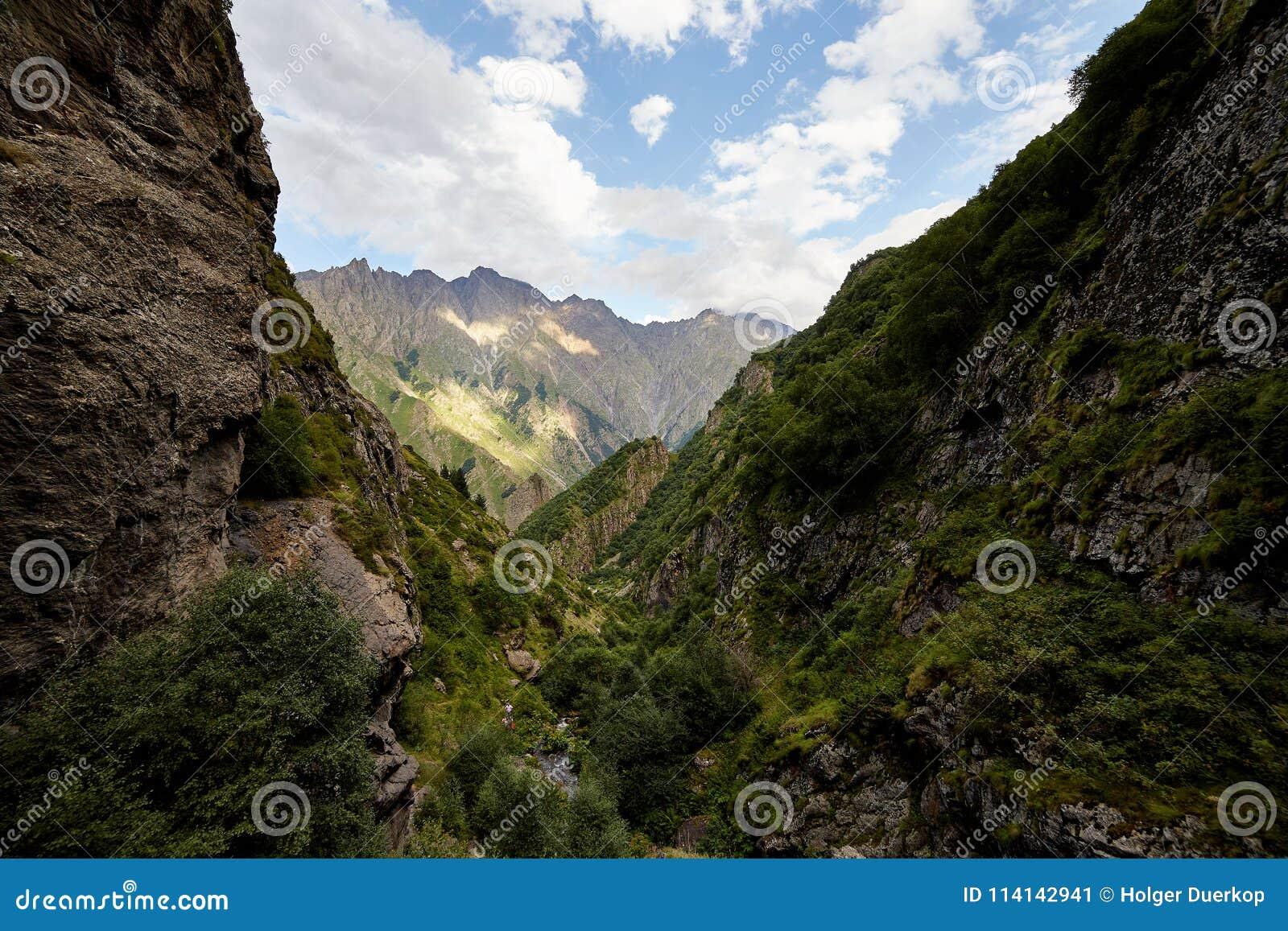 Uitlopers van de Kaukasus in Georgië