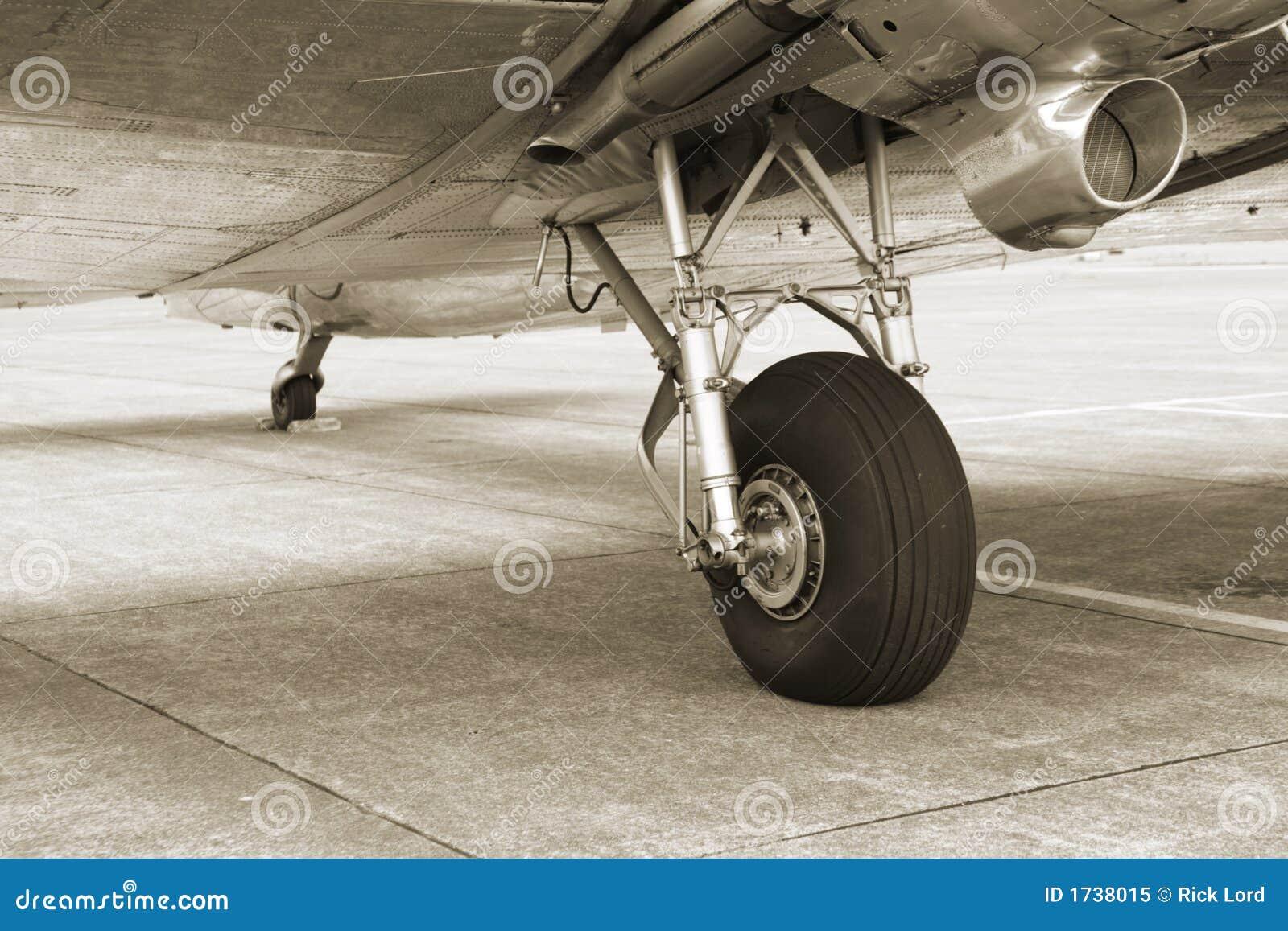 Uitstekend DC3 Landingsgestel
