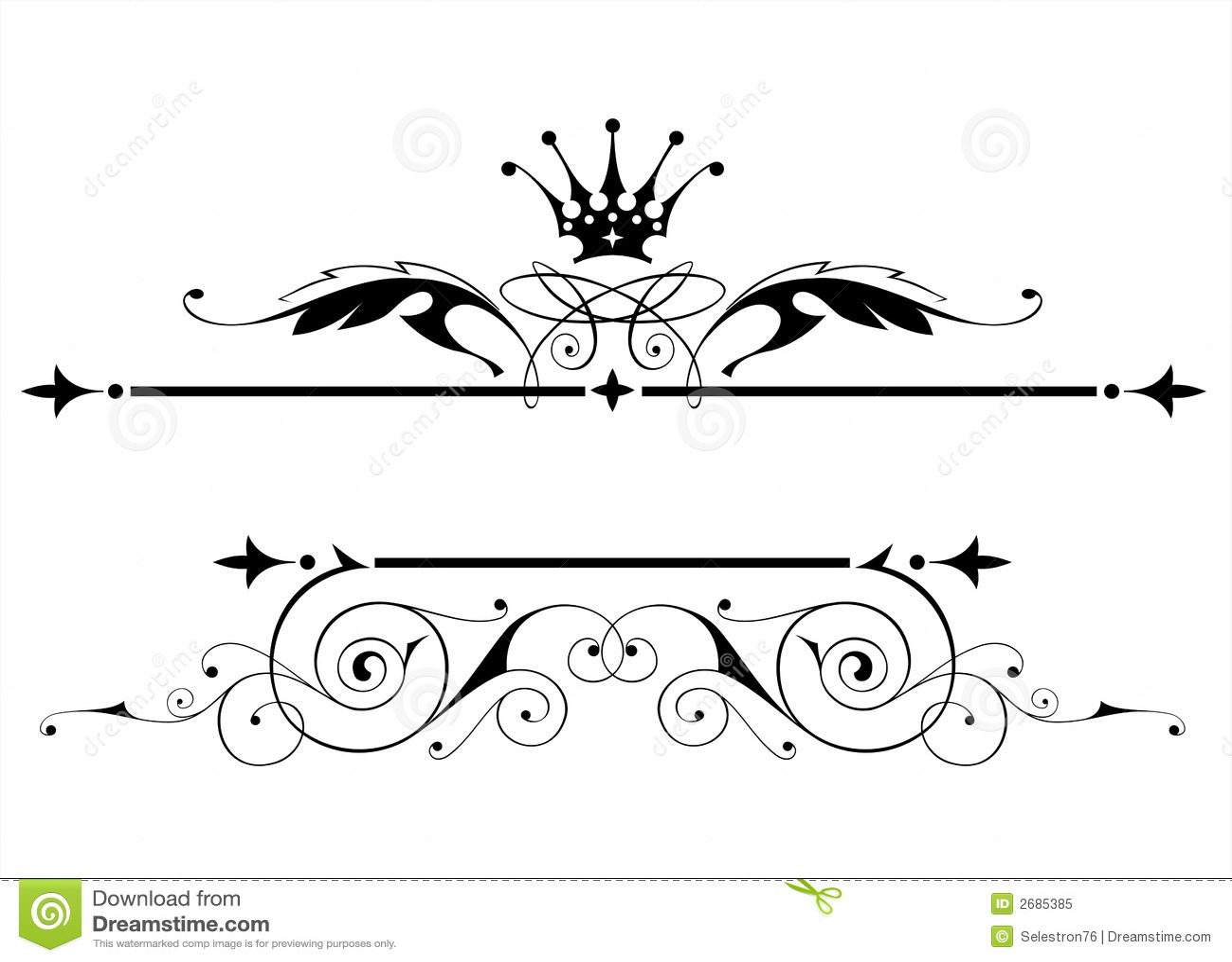 Uitstekend heraldisch embleem