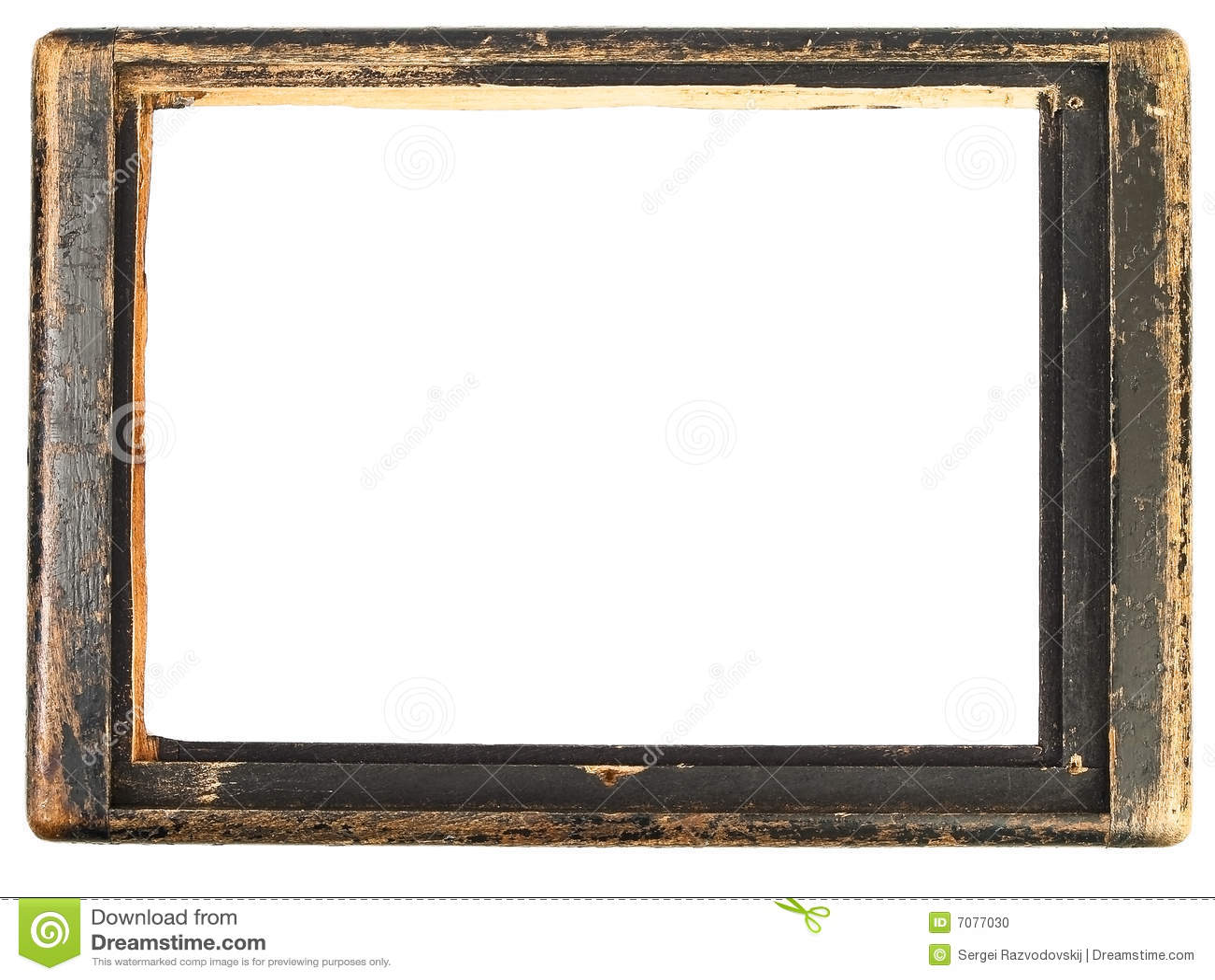 Uitstekend houten frame