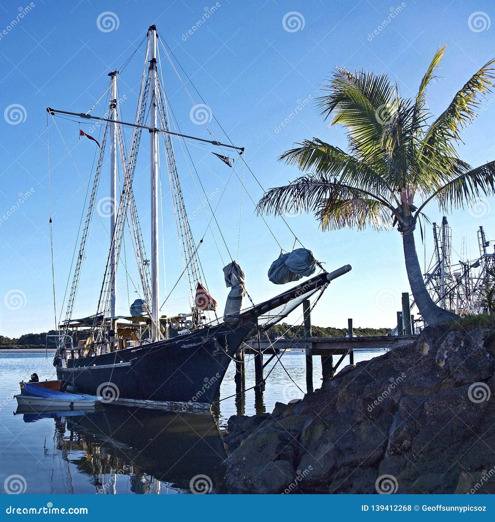 Uitstekend Lang Schip, tropische marinescape