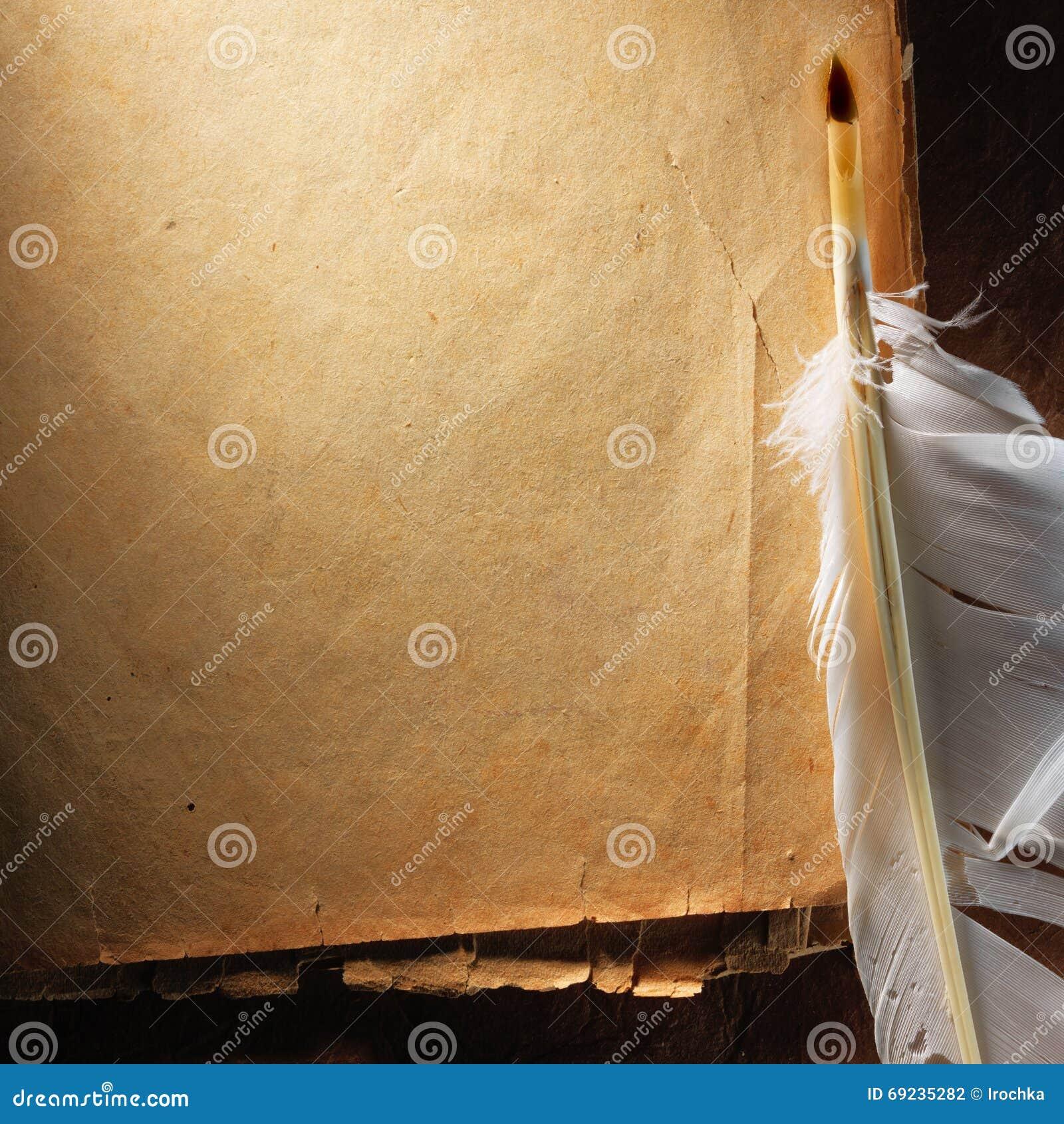 Uitstekend oud oud document Originele achtergrond of textuur