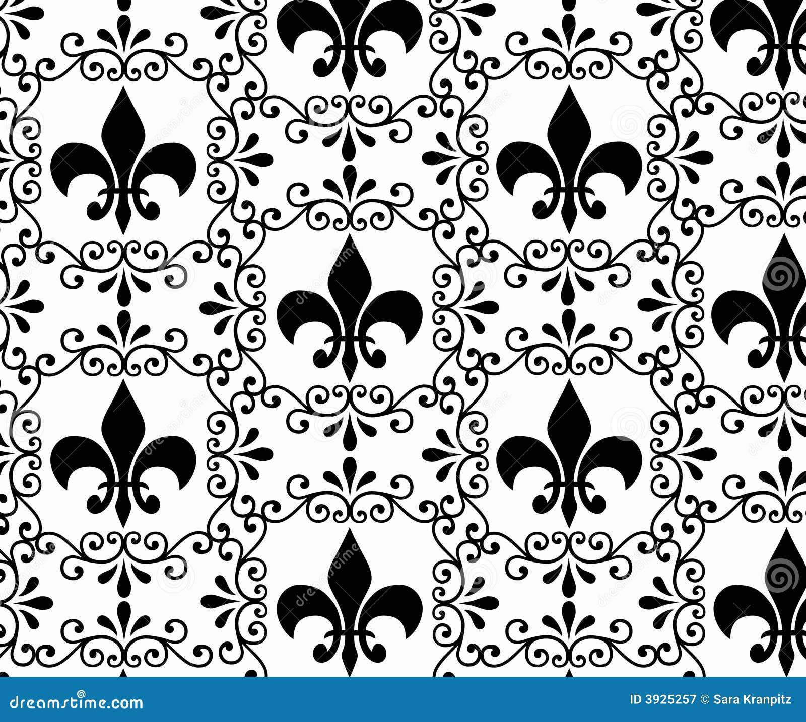 Uitstekend victoriaans behang stock illustratie afbeelding 3925257 - Behang grafisch ontwerp ...