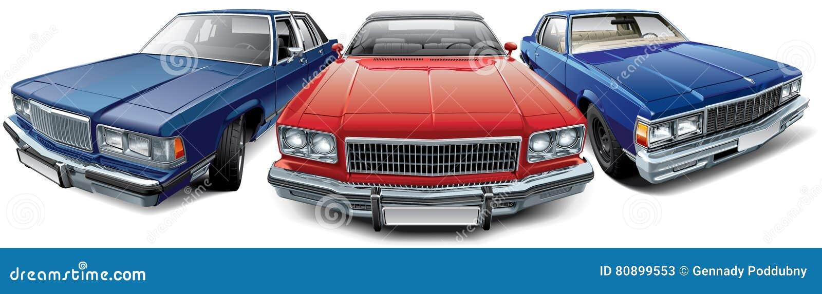 Uitstekende Amerikaanse auto s