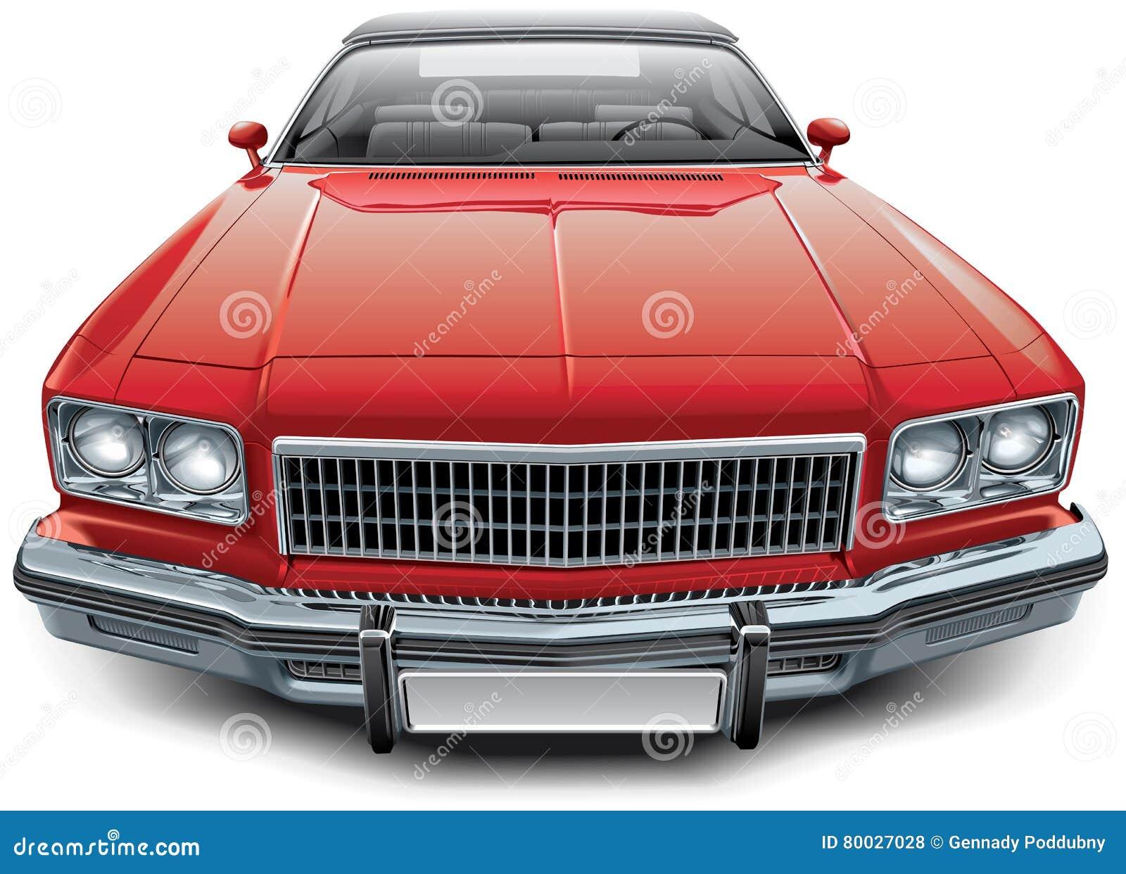 Uitstekende Amerikaanse convertibele coupé