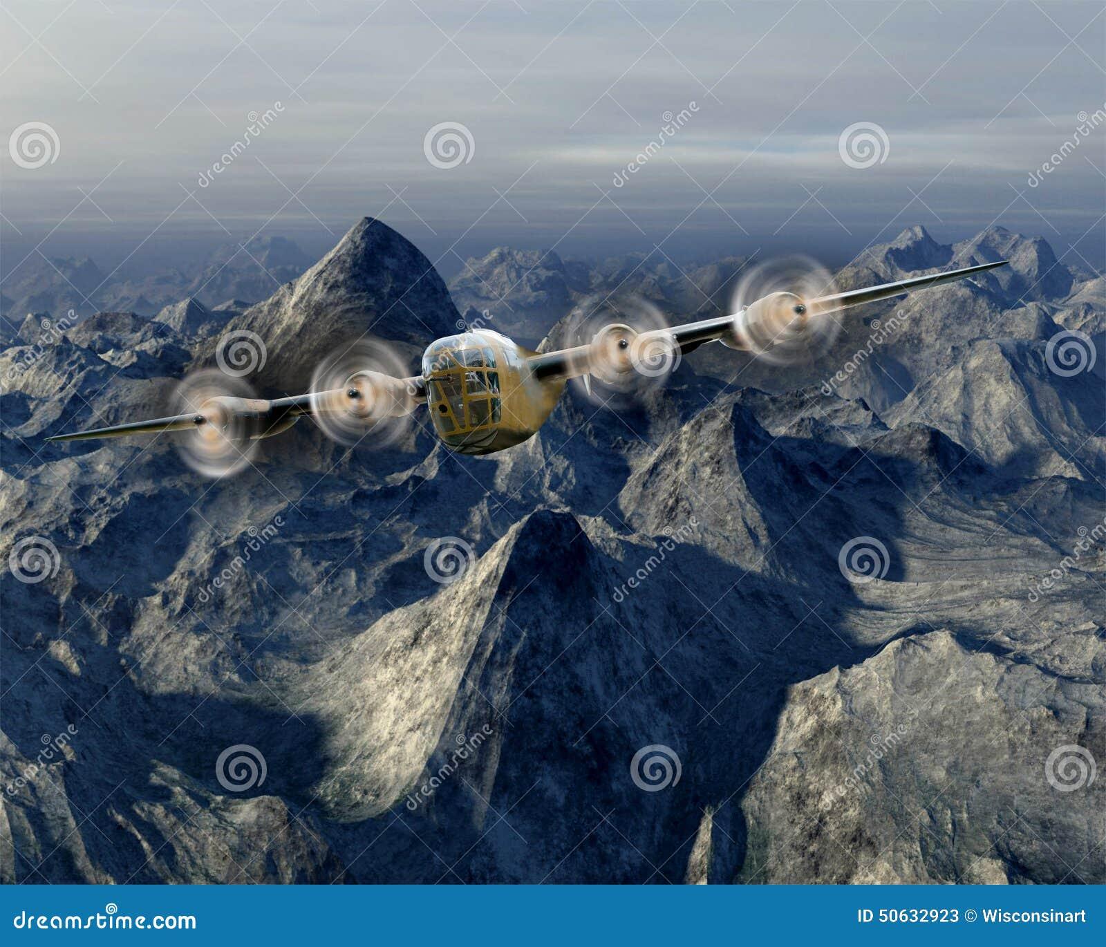 Uitstekende B-17 WO.II Oorlogsbommenwerper