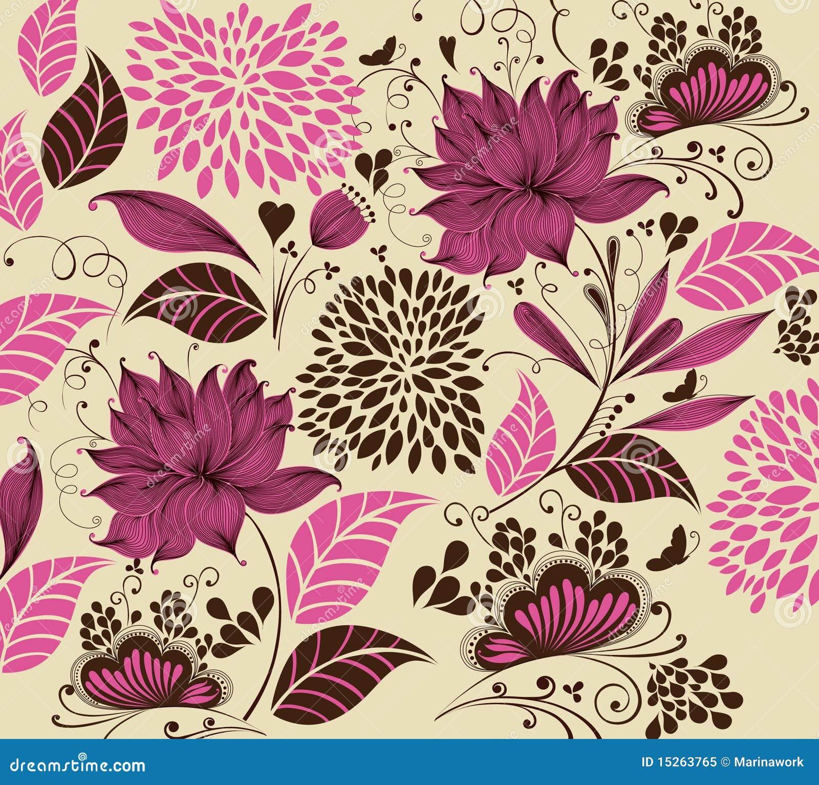 Uitstekende bloemachtergrond