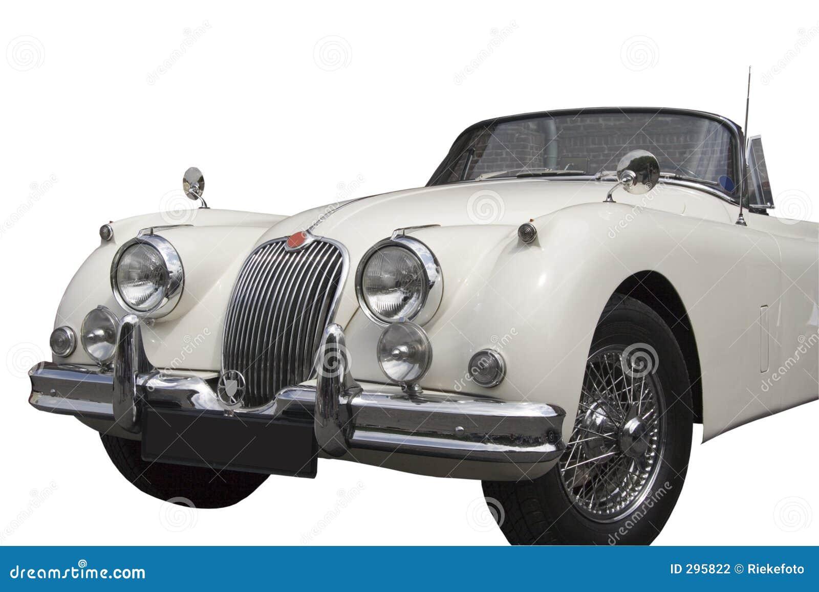 Uitstekende Convertibele Jaguar -