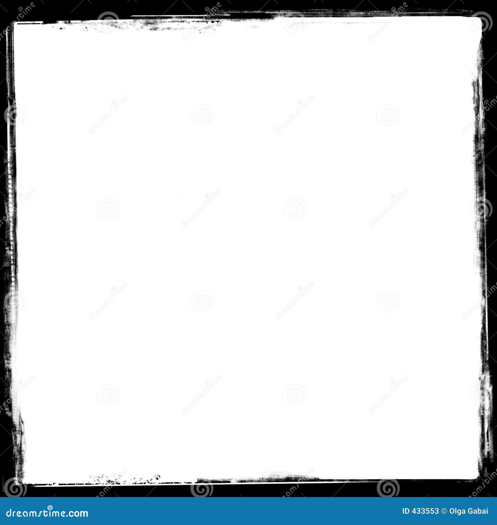 Uitstekende frame grens (2)