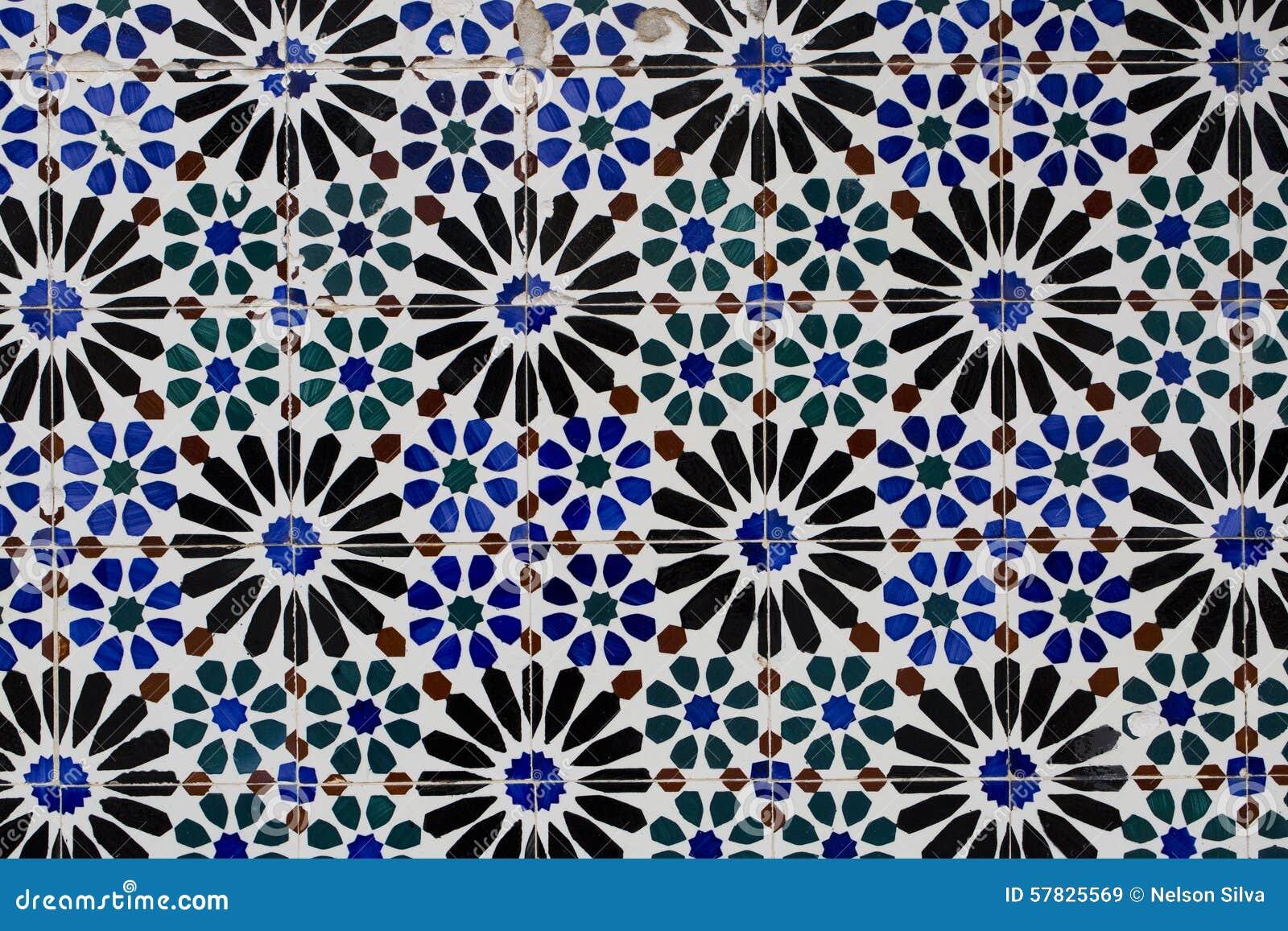 Keramische Portugese Tegels : Uitstekende keramische tegel stock afbeelding afbeelding bestaande