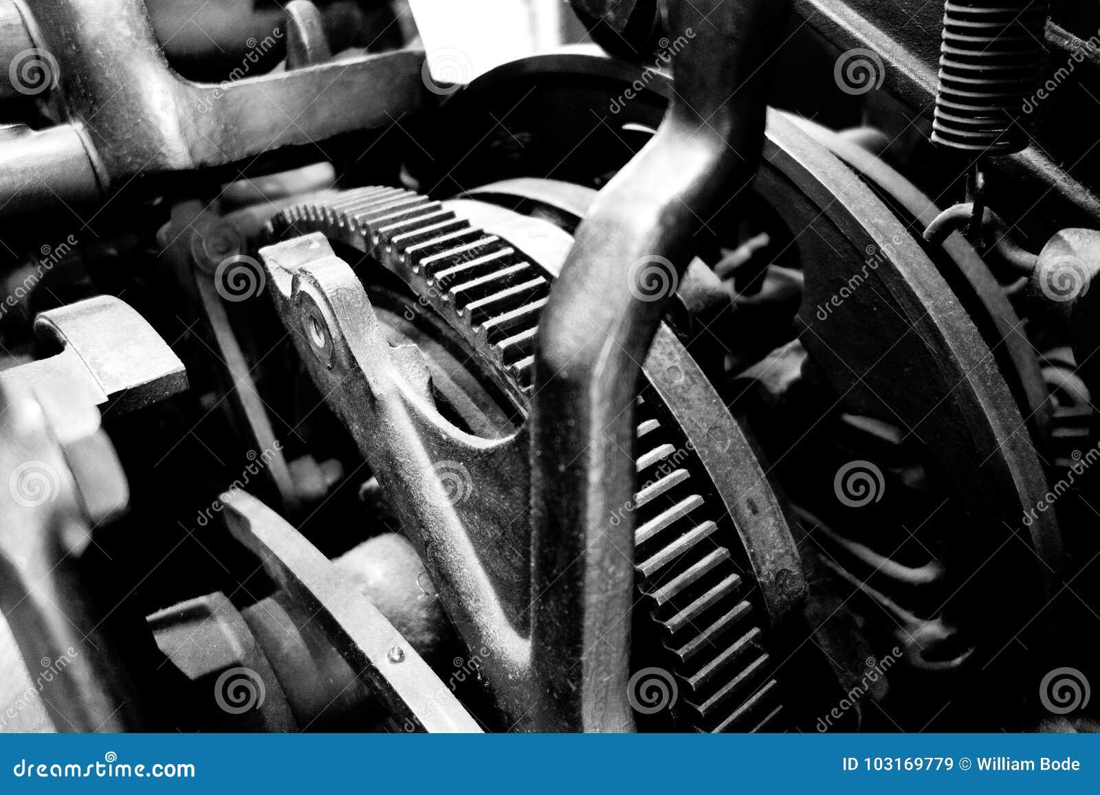 Uitstekende Machinetoestellen en Katrollen