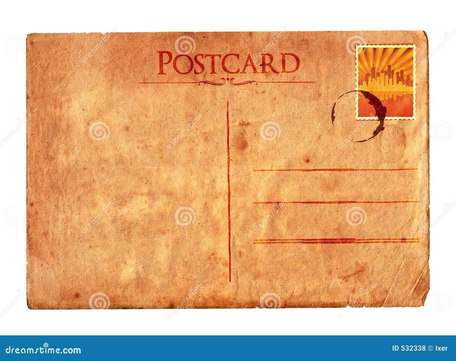 Uitstekende prentbriefkaar 02 (met zegel)