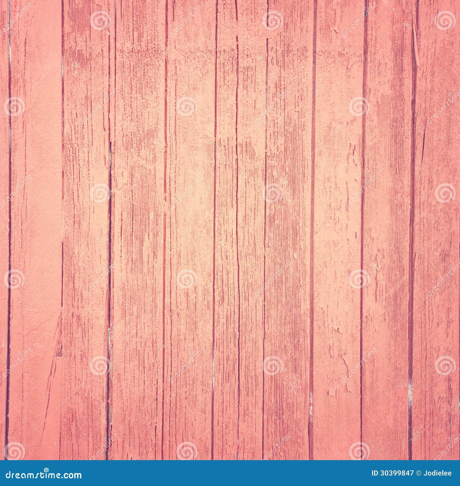 Uitstekende roze houten achtergrond