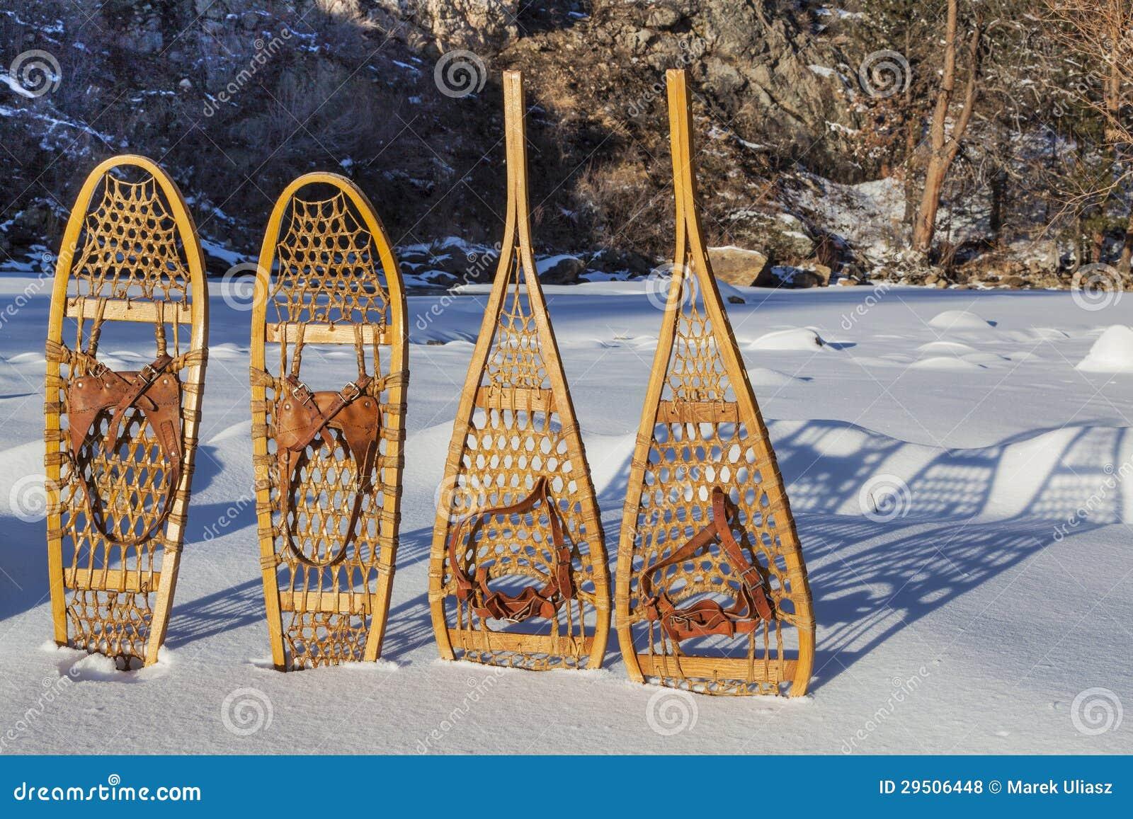 Uitstekende sneeuwschoenen