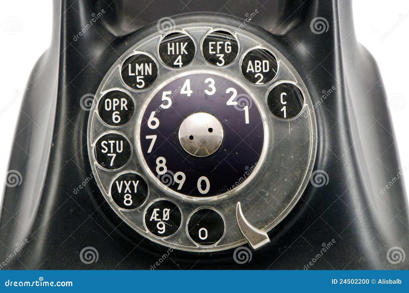Uitstekende telefoonwijzerplaat met aantallen