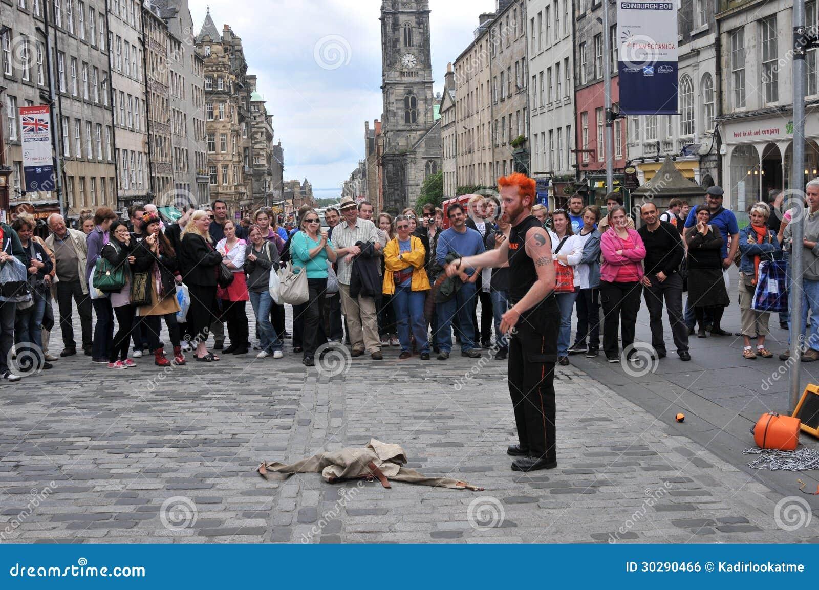 Uitvoerders bij het Festival van Edinburgh