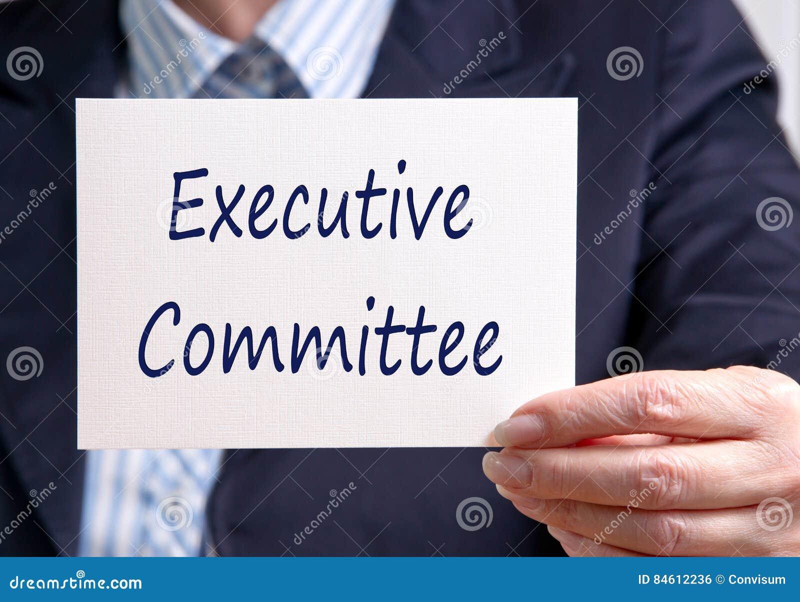 Uitvoerend comité