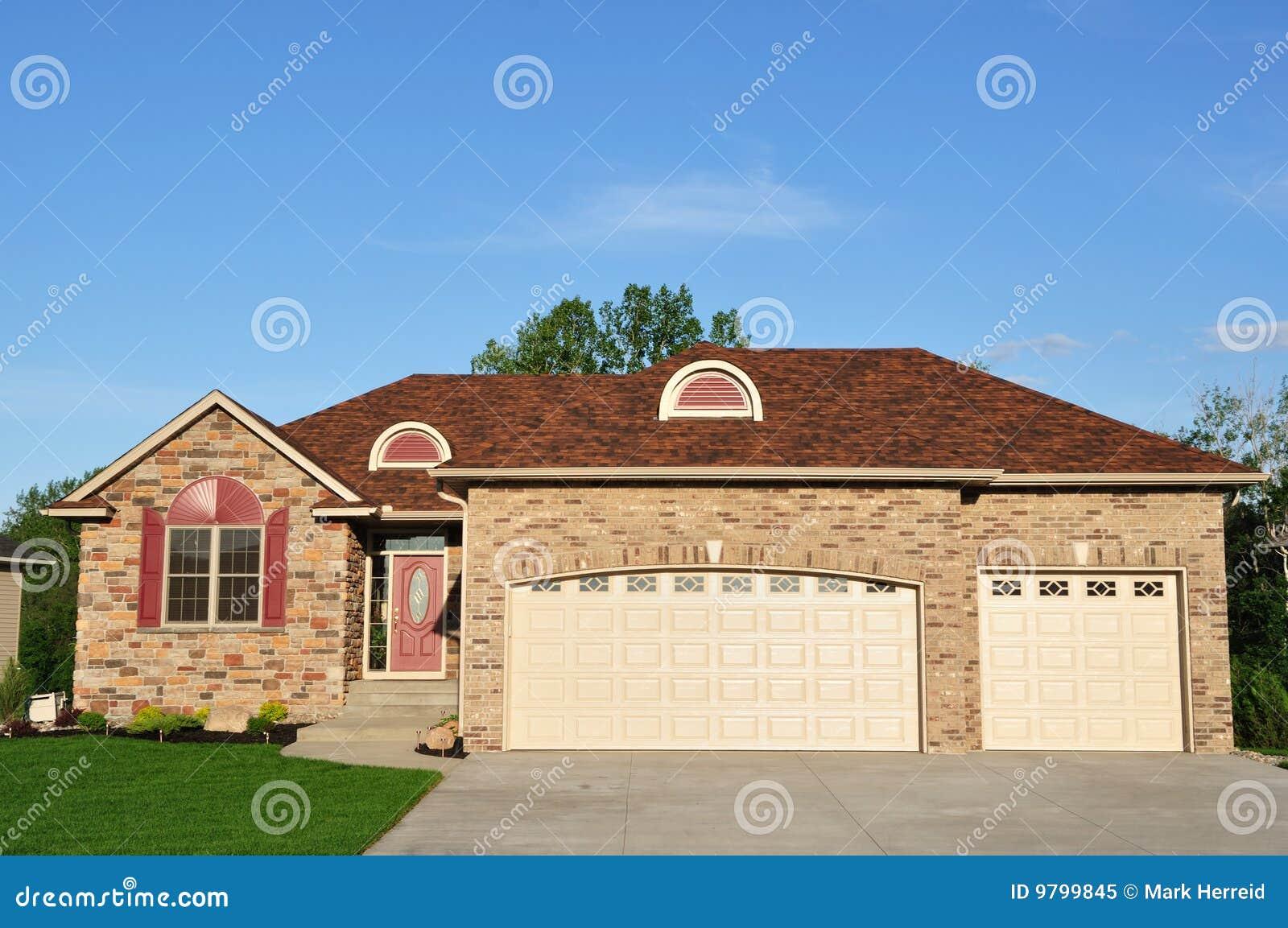 Uitvoerend Huis in de voorsteden