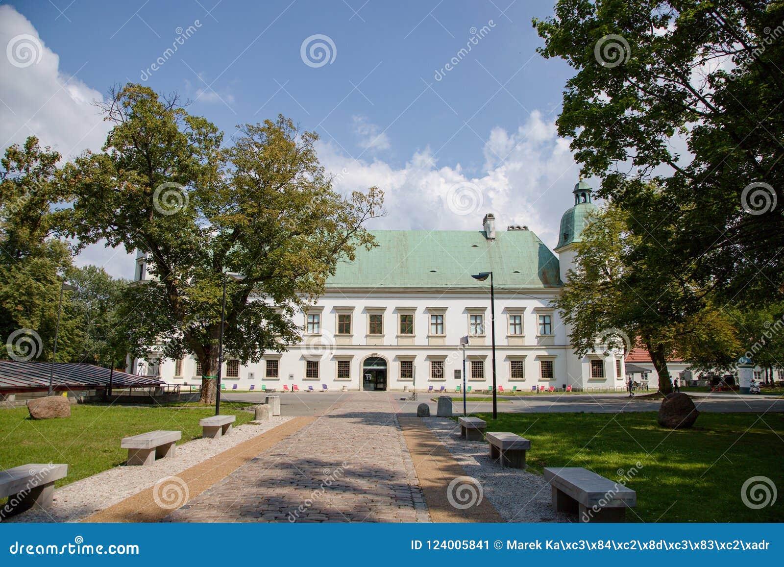 Ujazdów castle in Warsaw in Poland, Europe