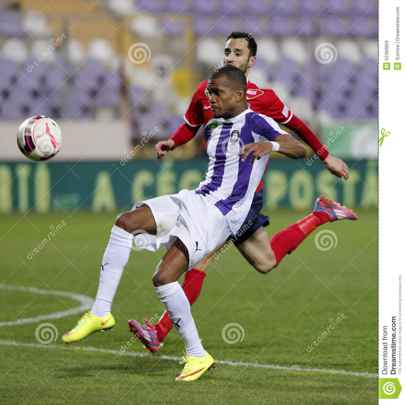 Ujpest Vs. Videoton OTP Bank League Football Match ...