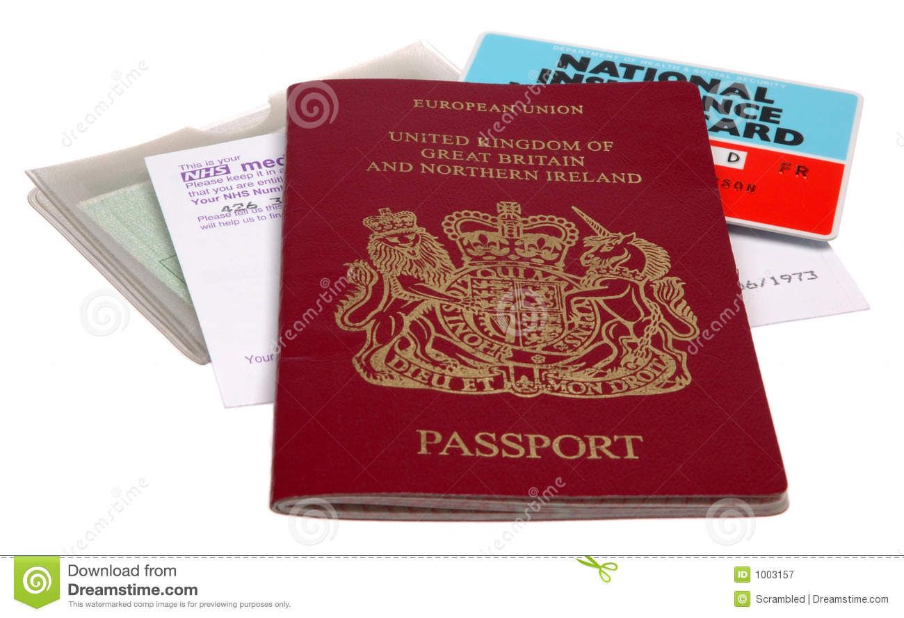 UK Identification papers