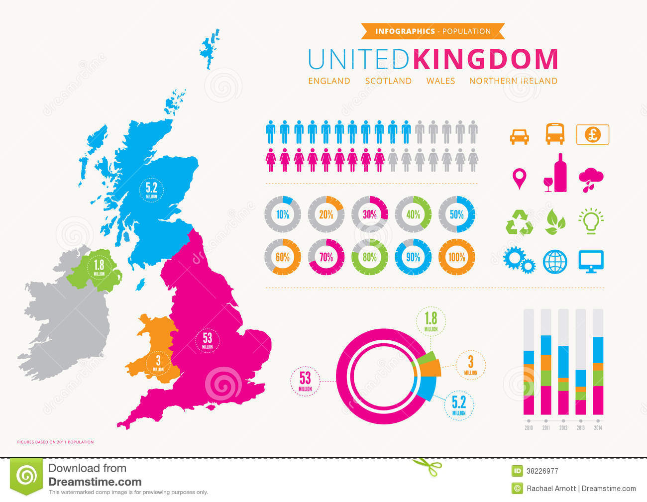 uk infographic with icons royalty free stock photography recycle symbol vector white recycling symbol vector