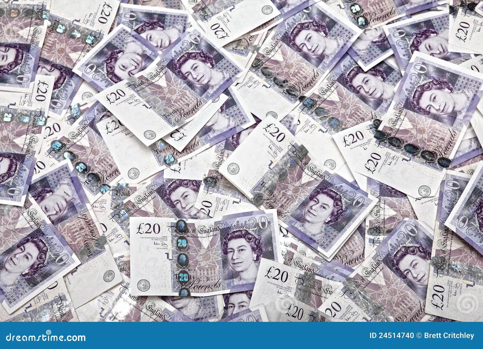 UK money banknotes