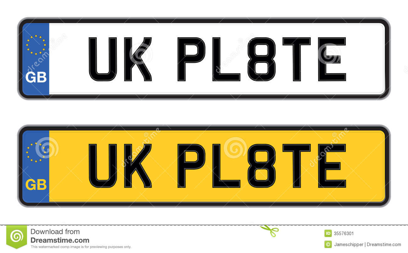 Quiz Time Clipart Uk Number Plate...