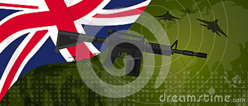 UK United Kingdom England Britain military power army defense industry war and fight country national celebration with
