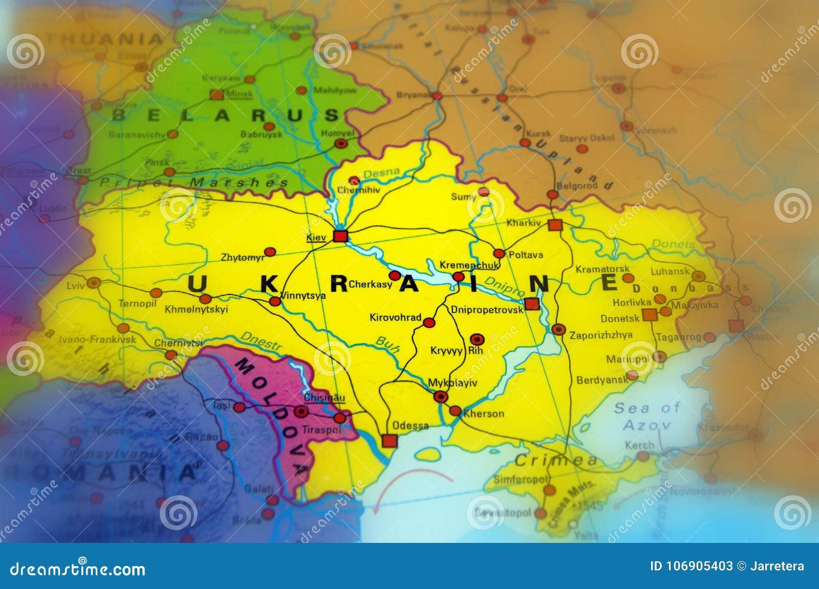 Ukraina, Europa Wschodnia