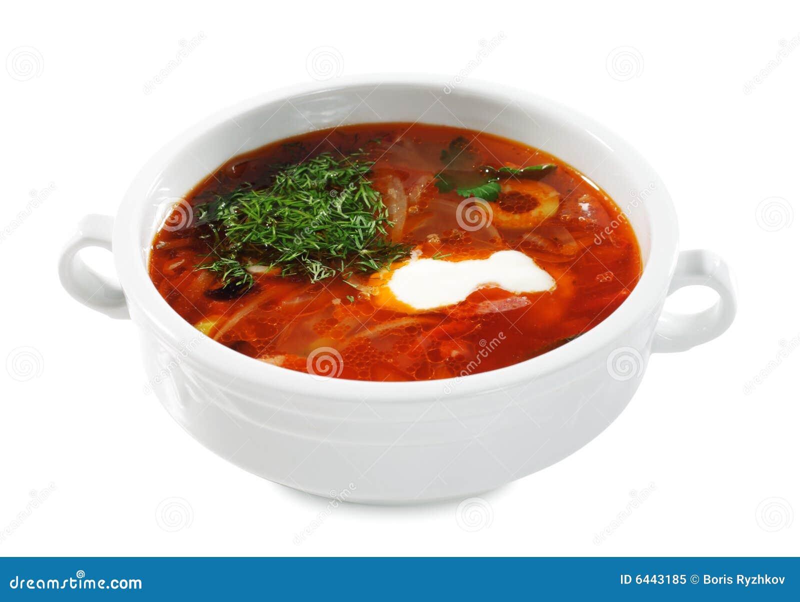 Ukrainare för kokkonstrysssolyanka soup