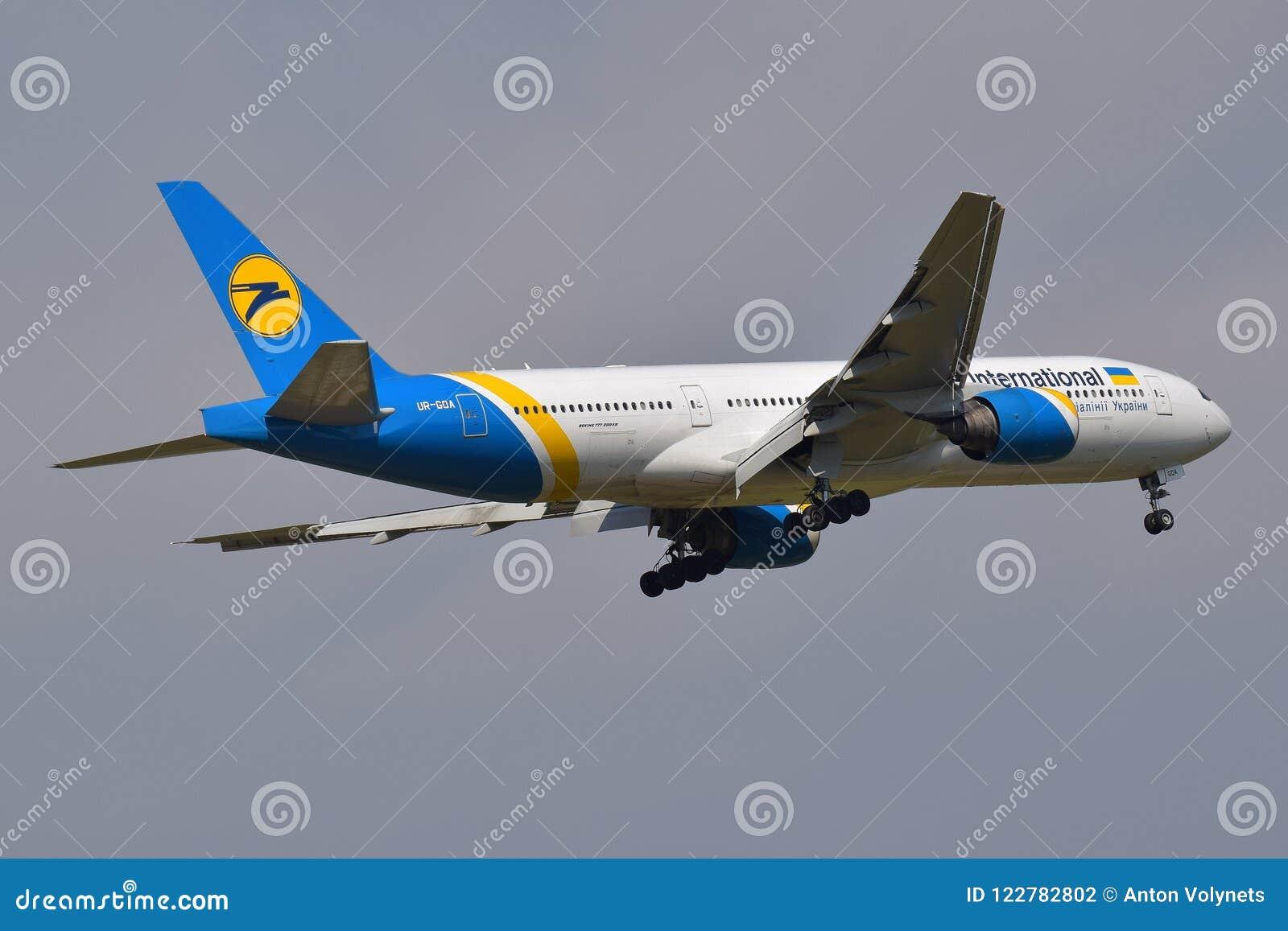 Ukraine International Airlines Boeing 777
