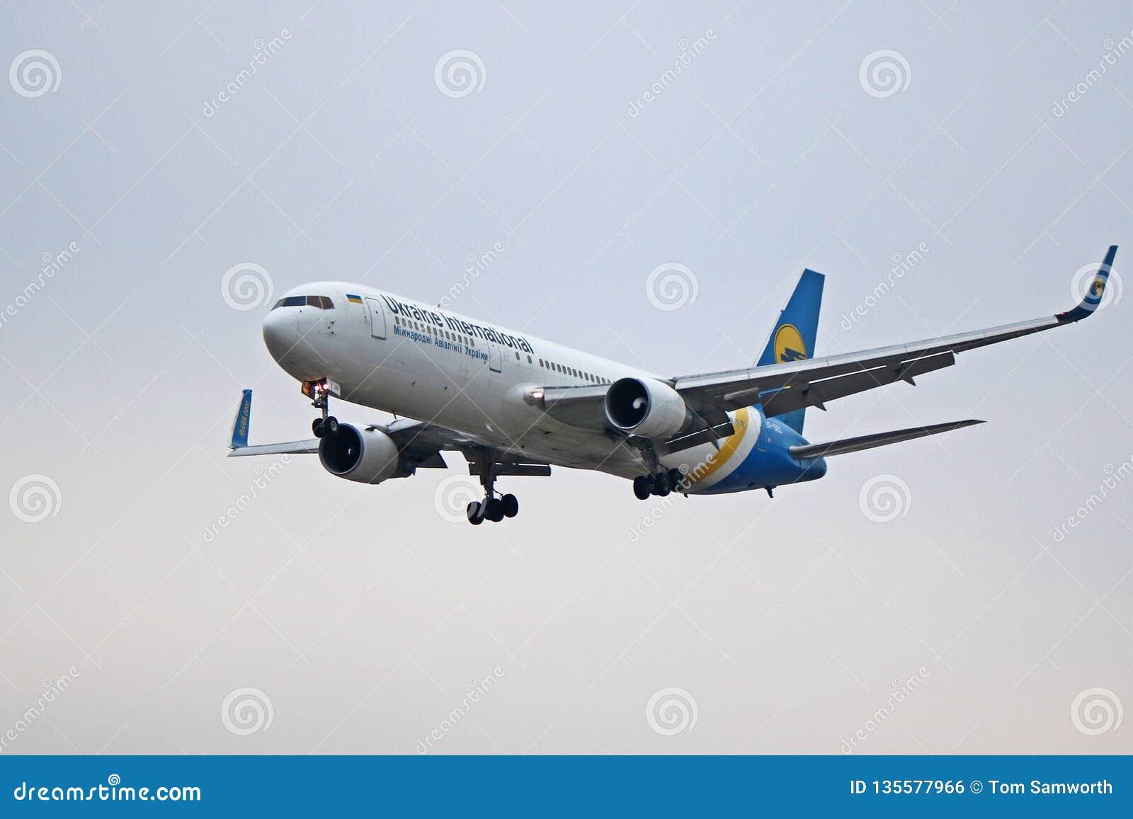 Ukraine International Airlines Boeing 767-300ER