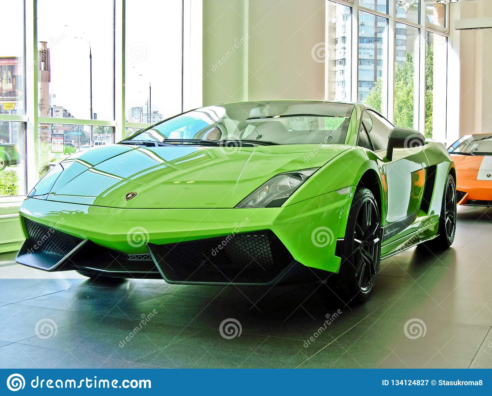 17 February 2011 Ukraine Kiev Lamborghini Gallardo Lp 570 4