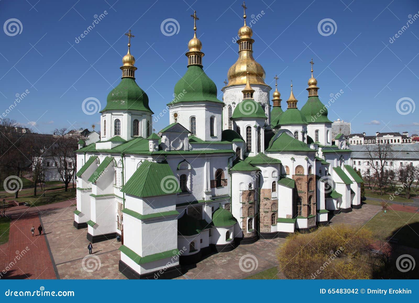 Ukraine. Kiev.Ukraine. Saint Sophias Cathedral. Bell tower